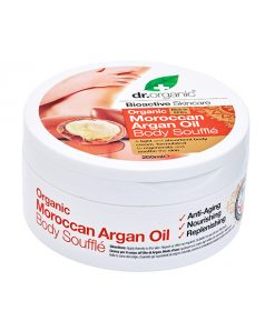 Dr. Organic Argan Body Soufflé 200 ml